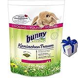 4 kg Bunny Kaninchen Traum Young Futter für junge Zwergkaninchen + Geschenk