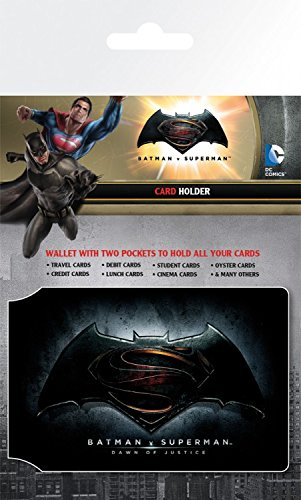 Batman Vs Superman - Logo Tarjeteros Para Tarjetas De Crédito (10 x 7cm)