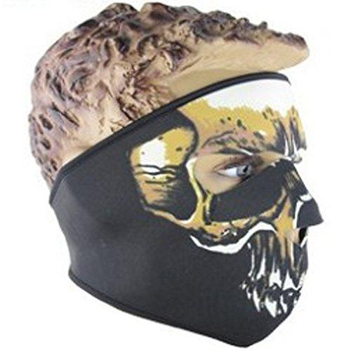 Lmeno Schädel Skelett Gesichtsmaske Ghost Style Balaclava Schädel Skelett Maske Motorrad Radfahren Cosply Kostüm Sport Ski Skifahren Snowboard Snowmobile - Typ G