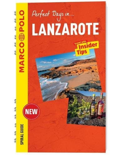 Lanzarote Marco Polo Travel Guide - with pull out map (Marco Polo Spiral Travel Guides)