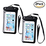 Best SE Beach Boats - 2 Pack Waterproof Pouch for Phone, Lively Life Review