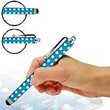 ONX3 Zte open C Polka capacitiva di alluminio dello stilo della penna di tocco (Baby Blue)