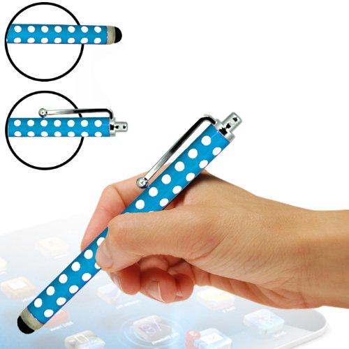 Fone-Case Apple iPod Touch 5, 5. Generation Protective Vorstand PU Leather Wallet Case mit Displayschutzfolie & Retractable kapazitiven Stylus Pen (schwarz)