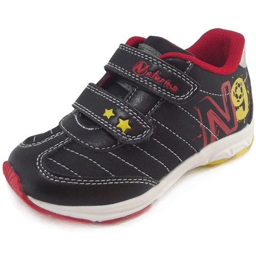 Naturino ,  Sneaker unisex bambino Nero (nero (noir))
