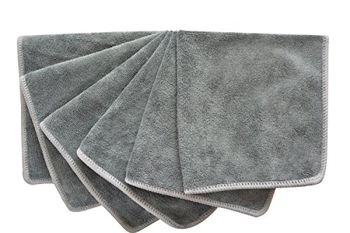 sinland-microfibre-cloths-lint-free-cloth-kitchen-cleaning-cloth-30x30cm-6-pack-slate-grey