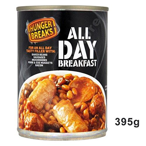 Hunger Breaks All Day Breakfast 395g - Komplettbeilage Englisches Frühstück (Crosse Und Blackwell)