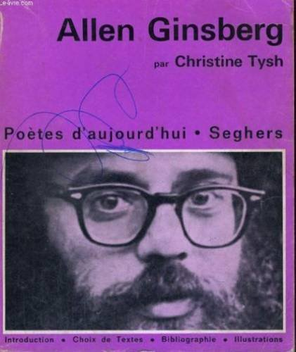 Allen ginsberg - collection potes d'aujourd'hui n 221