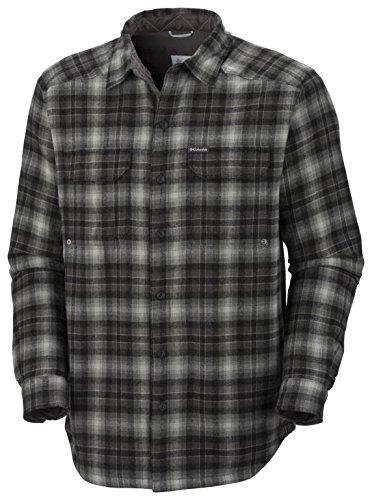 Windward TM Overshirt Columbia Chemise pour Homme Scacchi Nero/Grigio