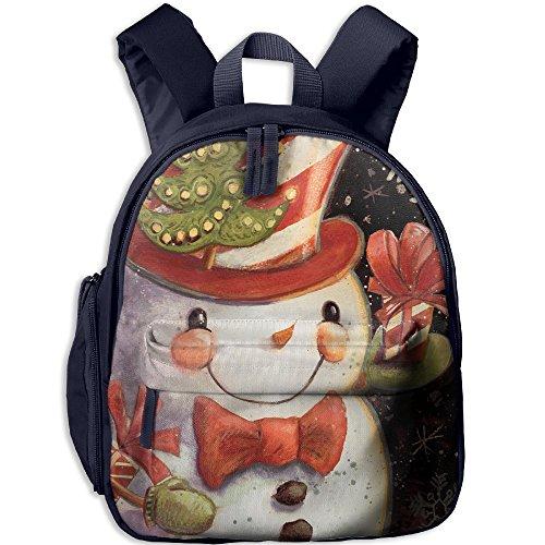 Cutebag Snowflake Snowman Merry Christmas Girls / Boys Backpack Kids Bag Childeren School Rucksack