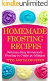 Homemade Frosting Recipes: Delicious Easy Homemade Frosting in Under 20 Minutes (English Edition)