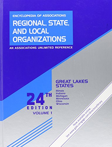 Encyclopedia of Associations 2: 1 (Encyclopedia of Associations: Regional, State & ... Vol. 1: Great Lakes States) por Gale
