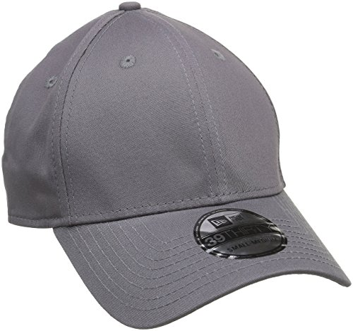 New Era Erwachsene Baseball Cap Mütze 39Thirty Stretch Back, Graphite, M/L, 11086488
