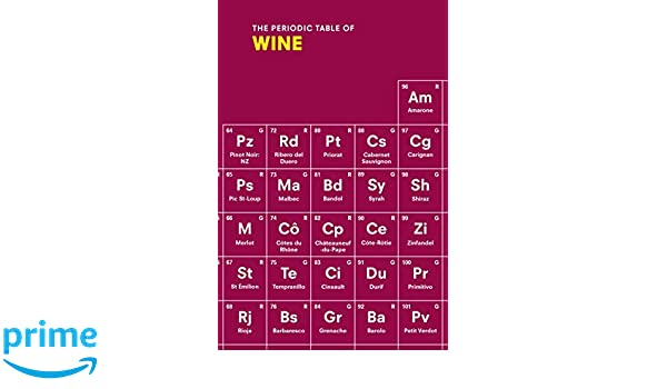 The periodic table of wine amazon sarah rowlands the periodic table of wine amazon sarah rowlands fremdsprachige bcher urtaz Image collections