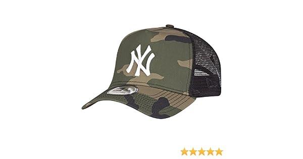 New York Yankees cappellino regolabile taglia unica New Era fantasia camouflage