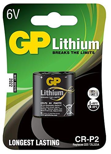 GP Photo Lithium Batterie CRP2 (DL223A, 6 Volt)