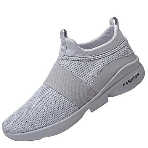 Btruely Schuhe Herren Turnschuhe Men Sneakers Belüftung Sportschuhe Mode Schnürung Laufschuhe Mesh Wanderschuhe Männer Running Fitnessschuhe Atmungsaktiv Outdoorschuhe Traillaufschuhe