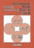 Formelsammlungen Sekundarstufe I - Alle Bundesländer: Mathematik - Physik - Chemie: Formelsammlung Hauptschule
