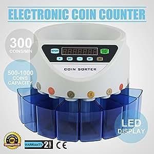 hpcutter uk gbp trieuse compteur automatique caisse monnaie compter machine 300 pi ces par. Black Bedroom Furniture Sets. Home Design Ideas