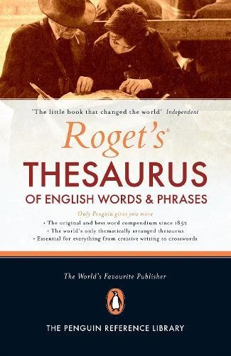 Roget's Thesaurus of English Words and Phrases: 150th Anniversary Edition por George Davidson