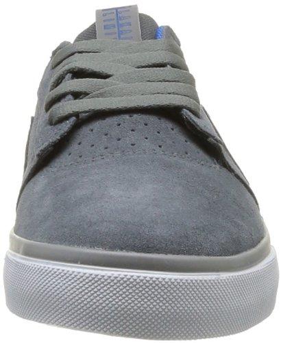 Lakai Griffin, Chaussures de skateboard homme Gris (Grey Suede)