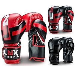 LNX Boxhandschuhe Performance Pro rot/schwarz 14oz