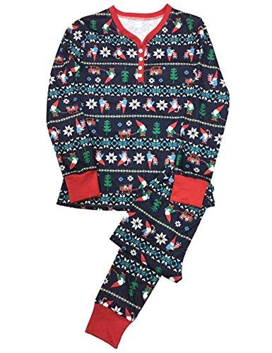 Schlafanzug SummerRio Weihnachten Pyjama Familie Hausanzug Damen Herren Kinder Muter