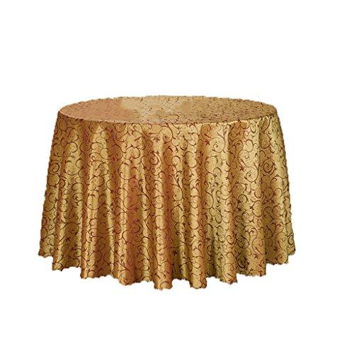 Primaria Casual Dining Tovaglia, hotel Tovaglia, Tovaglia rotonda vino rosso copertura tavolo ( colore : 260CM )