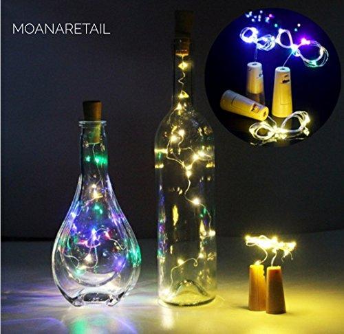 MoANaRetail LED Lights for Diwali Navratri Durga Puja Decoration Battery Operated Bottle Lights Colorful Lights