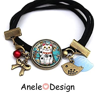 Bracelet ? Japonais Maneki Neko