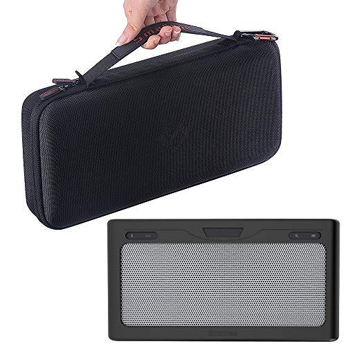 Smatree Custodia Rigida + Cover Morbida Nera per Bose SoundLink III Diffusore Portatile Bluetooth