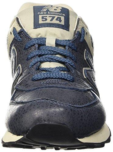New Balance 574, Scarpe Running Uomo Blu (Stone Blue)