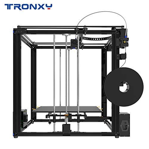 TRONXY X5SA-400 3D-Drucker-DIY-Kit Auto-Nivellierfaden-Fadensensor Lebenslauf-Druckwürfel-Vollmetallplatz mit 3,5-Zoll-Touchscreen Große Druckgröße 400 * 400 * 400 - 3