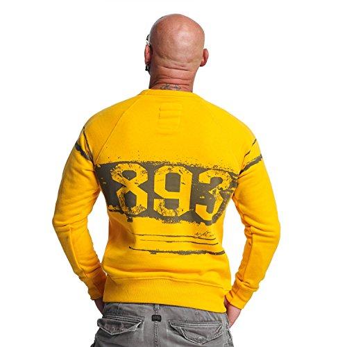 Yakuza Original Herren YENT Pullover Sweater gold fusion
