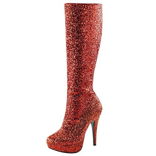 Heels-Perfect, Stivali donna Rosso (Rosso (Rosso))