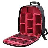 TsunNee Waterproof Camera Case, Shockproof Camera Backpack Bag Rucksack for SLR DSLR Lens
