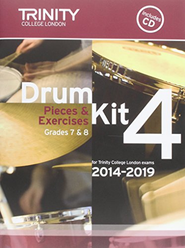 Drum Kit 2014-2019 Book 4 Grades 7 & 8 por Trinity College Lond