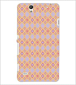 PrintDhaba Pattern D-5166 Back Case Cover for SONY XPERIA C4 (Multi-Coloured)