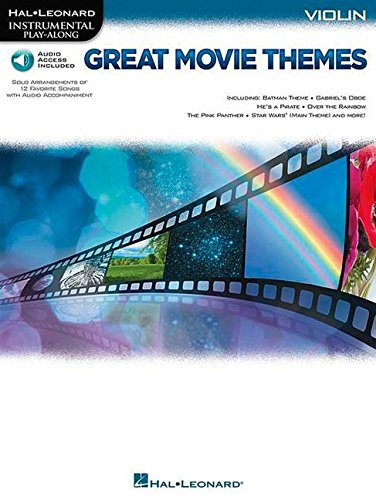 Instrumental Play-Along: Great Movie Themes - Violin