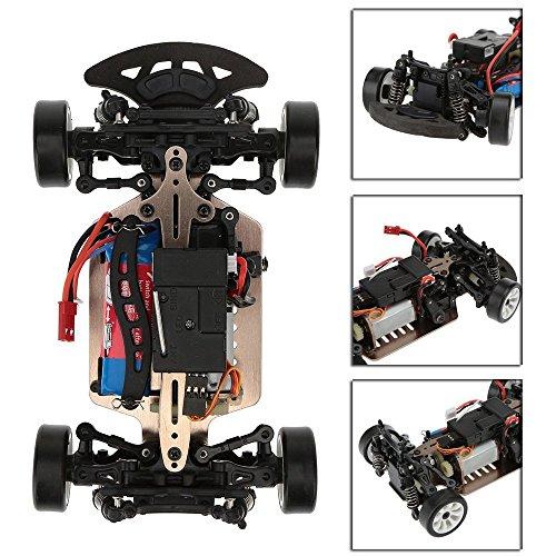 RC Auto kaufen Drift Car Bild 5: ZHAGOO Elektro Spielzeugautos A252, 2,4 G, Ma stab 1 24, 40 km h, 4 WD, RTR High Speed Funksteuerung, RC Drift Flat Sportwagen Spielzeug*