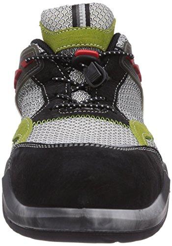 MTS Sicherheitsschuhe My Energy Green Energy S1p Flex 49907, Chaussures de Sécurité Mixte Adulte vert (grün/grau/schwarz)