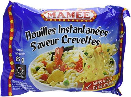 MAMEE Nouilles Instantanées Arôme Crevettes - Lot de 10