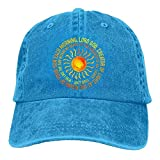ruishandianqi Hüte,Kappen Mützen Christian Religious Prayer Jesus God Denim Hat Womens Plain Baseball Hat