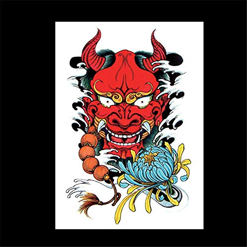 zgmtj Blumen-Arm-Tätowierungs-Aufkleber Halloween-Party-Tätowierungs-Aufkleber 20 148×210MM