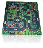 Road Racing Track Toddler City Play Mat ...