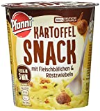 Pfanni Kartoffel Snack Kartoffelpüree mit Fleischbällchen & Röstzwiebeln 1 Portion