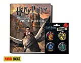 Panini Verlag Harry Potter: Das magische Pop-up-Buch (Gebundene Ausgabe) + 1. original Harry Potter Button