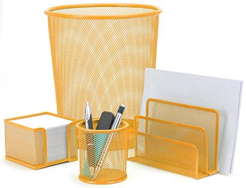 Eliware 4 teiliges Büroset | Orange