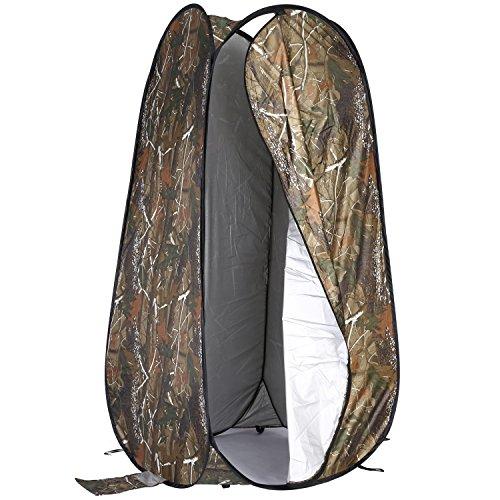 Neewer 183cm Pop up Tente de Changer Vêtement Cabine d'Essayage Tente Portable Confidentialité Abri de Douche Toilette pour Randonnée Camping Plage Parc Zone de Montagne avec Sac de Transport Zippé