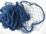Deko Fischernetz Blau 200x400cm Baumwolle 2.