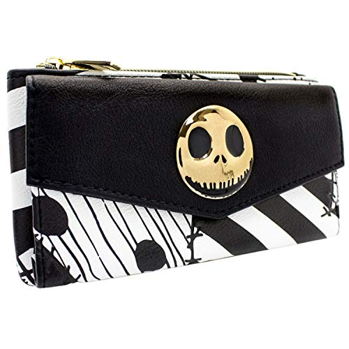 Nightmare Before Christmas Patchwork Schwarz Portemonnaie ()